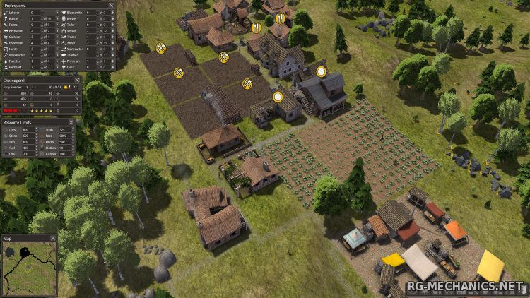 Скриншот 3 к игре Banished [v 1.0.6] (2014) PC | Лицензия