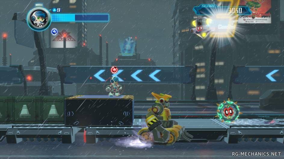 Скриншот к игре Mighty No. 9 [+ 4 DLC] (2016) PC   RePack от FitGirl