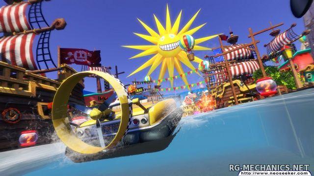 Скриншот к игре Sonic & All-Stars Racing Transformed (2013) PC   RePack by Mizantrop1337