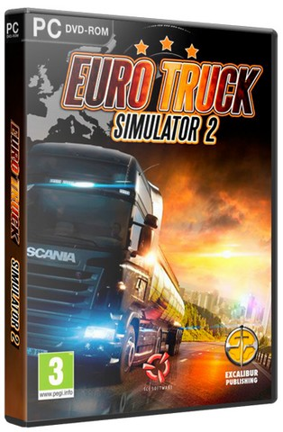 Euro Truck Simulator 2 [v 1.24.3s + 40 DLC] (2013) PC | RePack от xatab