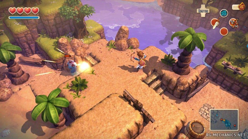 Скриншот к игре Oceanhorn: Monster of Uncharted Seas [v.3.3.47.500] (2015) PC | Steam-Rip от Let'sРlay