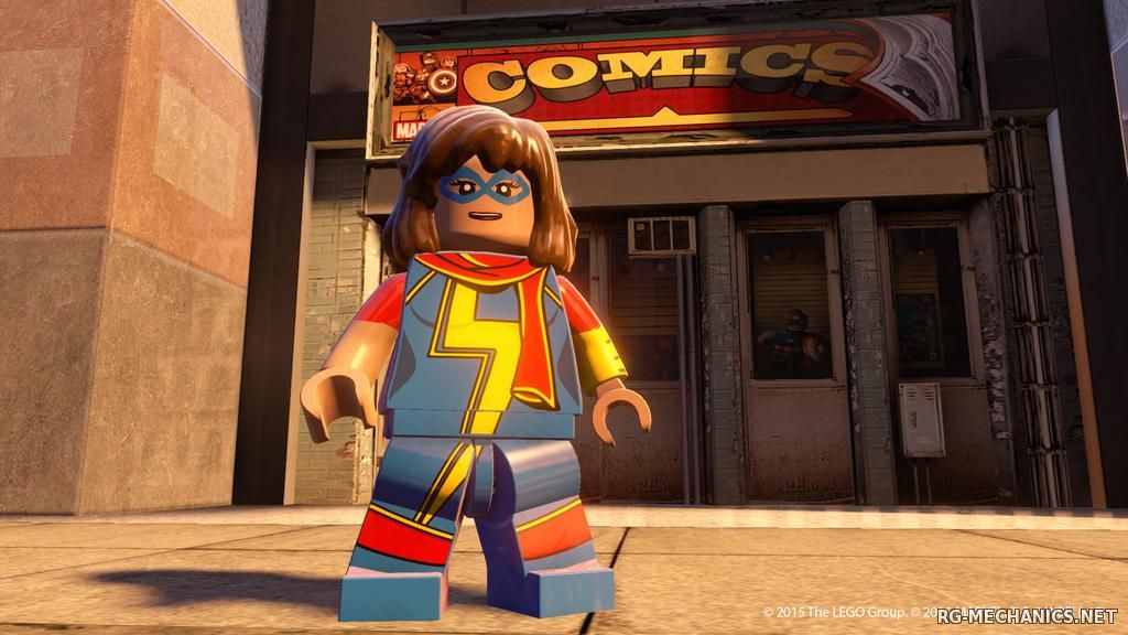 Скриншот к игре LEGO: Marvel Мстители / LEGO: Marvel's Avengers (2016) PC | RePack от R.G. Механики