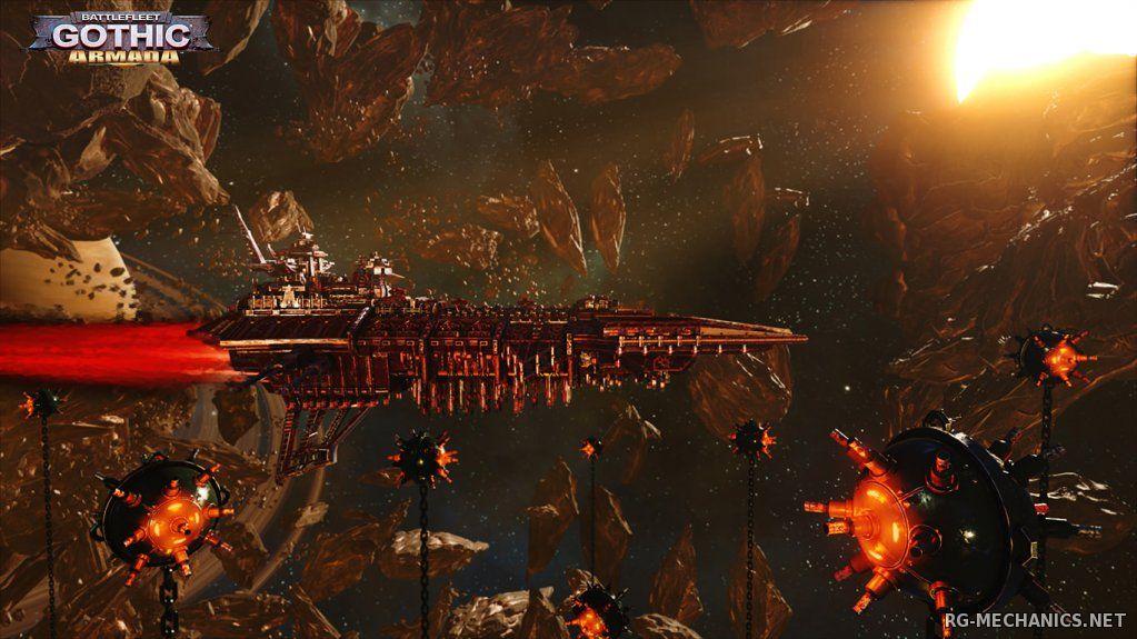 Скриншот к игре Battlefleet Gothic: Armada [v 1.5.8468] (2016) PC | Repack от =nemos=