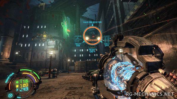 Скриншот к игре Hard Reset Redux (2016) PC | RePack от FitGirl