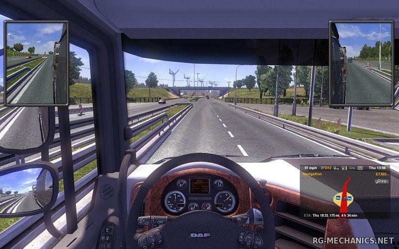 Скриншот к игре Euro Truck Simulator 2 [v 1.24.3s + 40 DLC] (2013) PC | RePack от xatab
