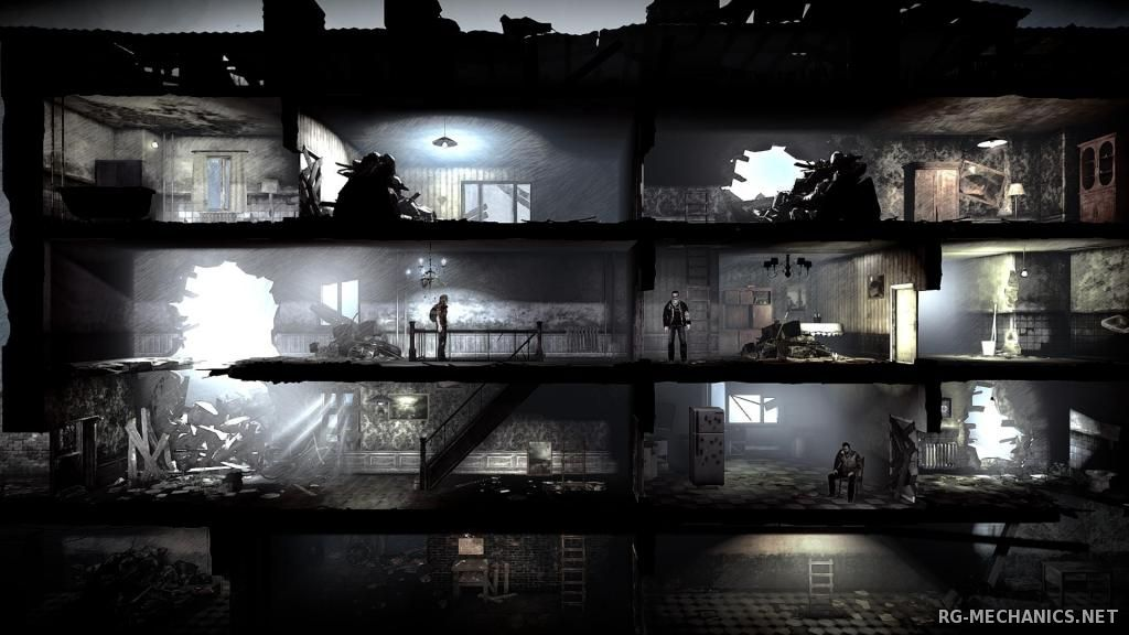 Скриншот к игре This War of Mine [v.2.2.2] (2014) PC | Steam-Rip от Let'sРlay
