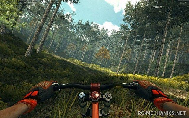 Скриншот к игре MTB Downhill Simulator (2016) PC | Лицензия