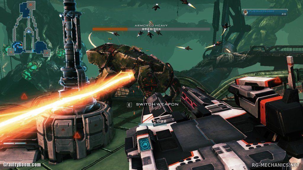 Скриншот к игре Sanctum 2 по сети