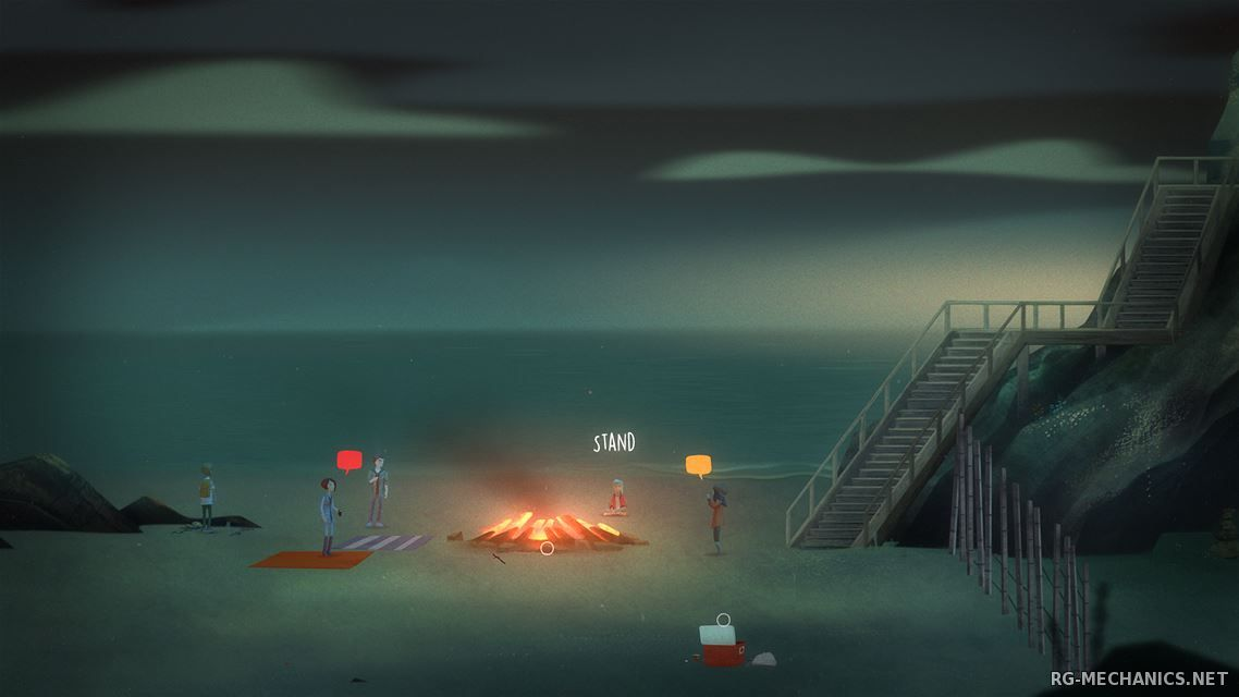 Скриншот к игре Oxenfree [v 2.1.0f26] (2016) PC   RePack от Other's