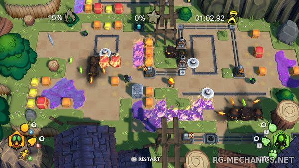 Скриншот к игре Burnstar [v1.0 b.204] (2016) PC | Repack