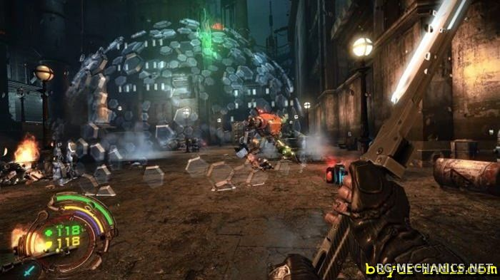 Скриншот к игре Hard Reset Redux [Update 1] (2016) PC | Repack от =nemos=