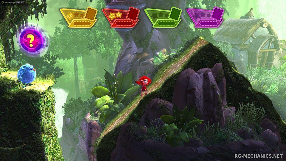 Скриншот к игре Giana Sisters Dream Runners по сети