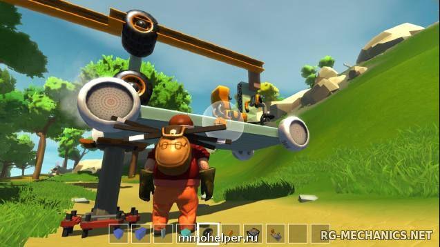 Скриншот к игре Scrap Mechanic v.0.4.7 [Portable] (Early Access) скачать торрент Лицензия