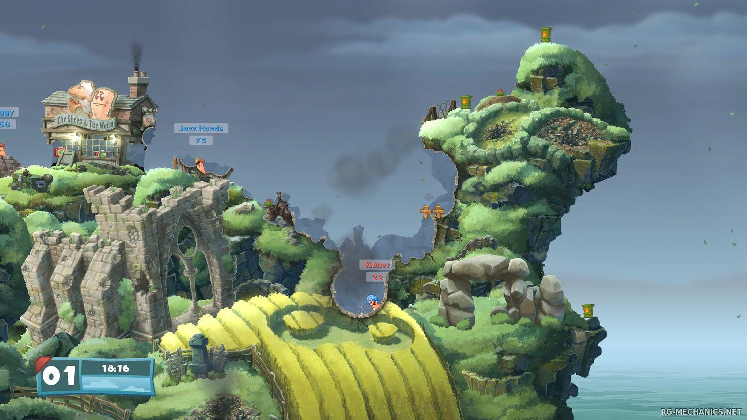 Скриншот к игре Worms W.M.D (2016) PC | RePack от R.G. Freedom