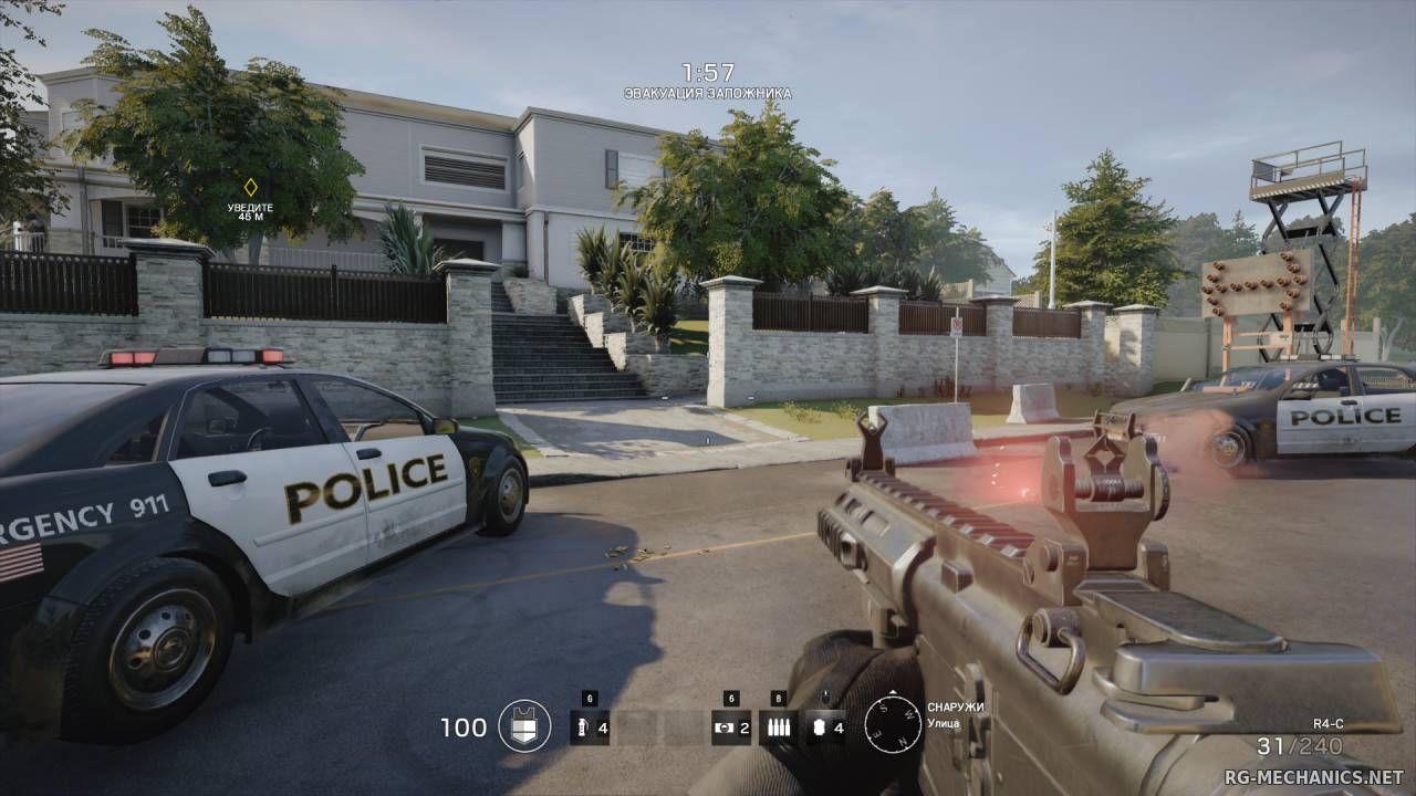 Скриншот к игре Tom Clancy's Rainbow Six: Siege по сети