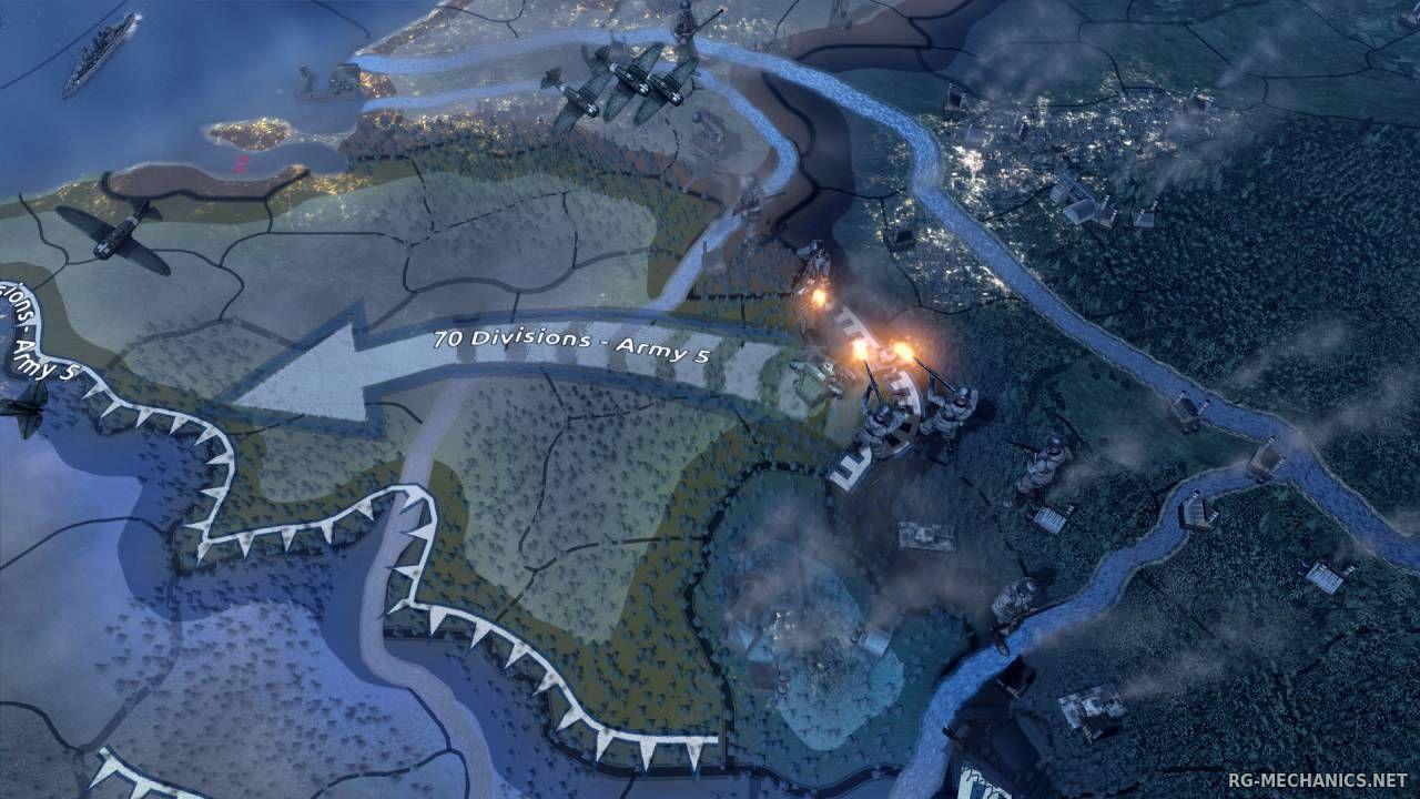 Скриншот к игре Hearts of Iron IV La Resistance [v 1.9.3 + DLC's] (2016) скачать торрент RePack