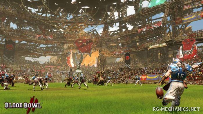 Скриншот к игре Blood Bowl 2 [v 1.9.0.13] (2015) PC | RePack от R.G. Механики