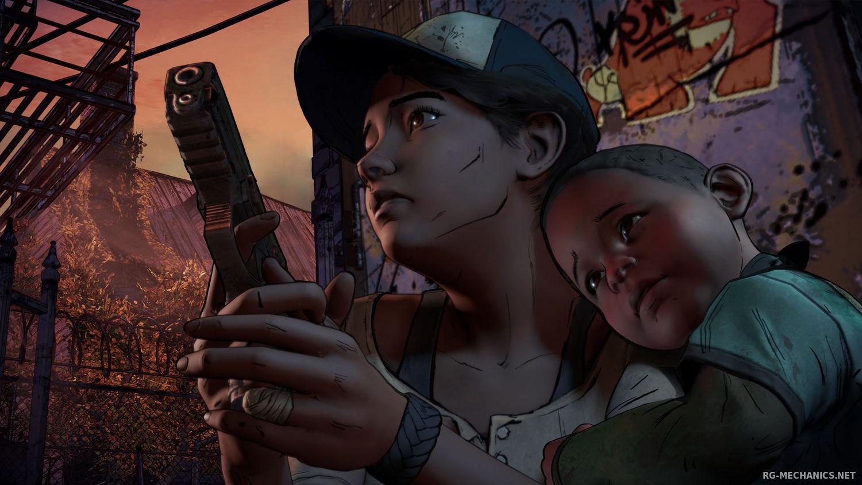 Скриншот к игре The Walking Dead: A New Frontier - Episode 1-5 (2018) скачать торрент RePack