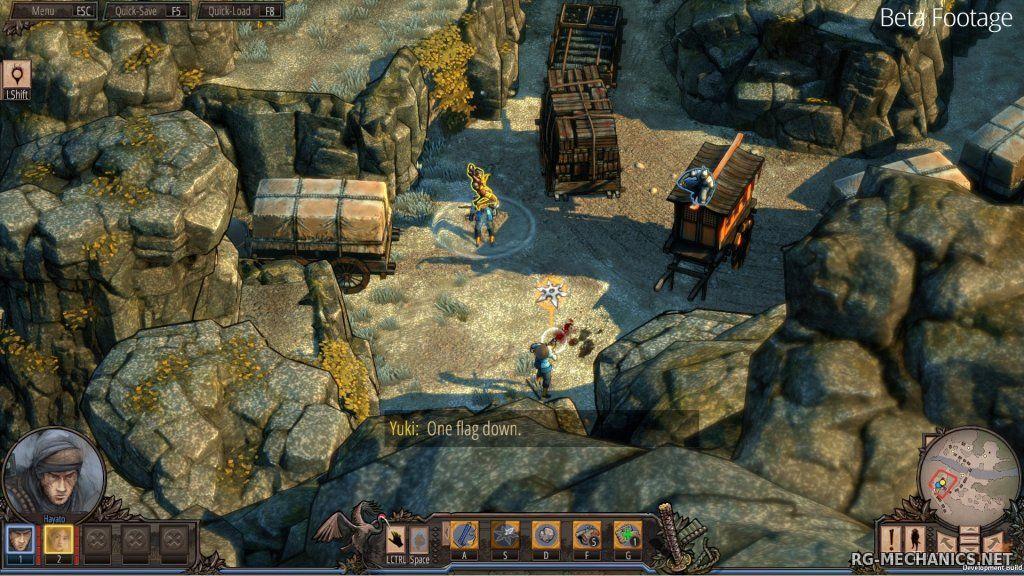 Скриншот к игре Shadow Tactics: Blades of the Shogun [v 1.2.1.f] (2016) PC | RePack от R.G. Механики
