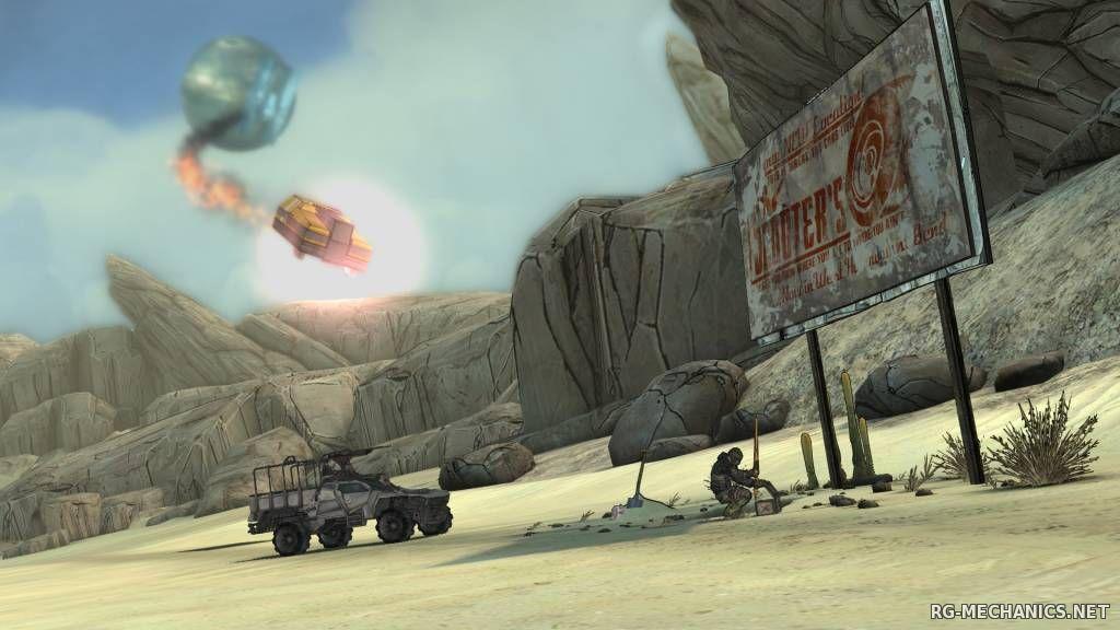 Скриншот к игре Tales from the Borderlands: Episode 1-5 (2014) PC | RePack от R.G. Механики