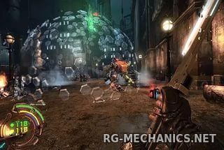 Скриншот к игре Hard Reset Redux [v 1.1.3.0] (2016) PC | RePack от R.G. Механики