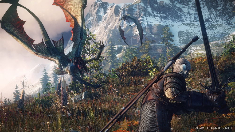 Скриншот к игре The Witcher 3: Wild Hunt + The Witcher 3 HD Reworked Project (mod v. 12.0) (2015) скачать торрент RePack