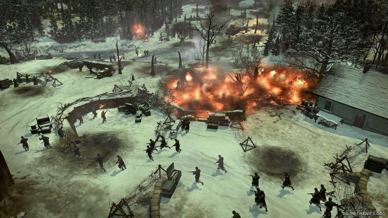 Скриншот к игре Company of Heroes 2: Master Collection [v 4.0.0.21701 + DLC's] (2014) PC | RePack от R.G. Механики