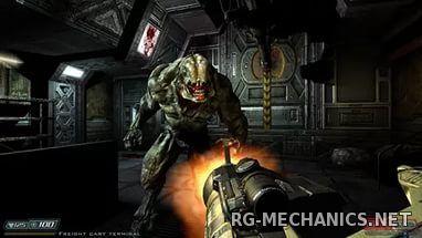 Скриншот к игре Doom 3 BFG Edition (2012) PC | RePack от R.G. Механики