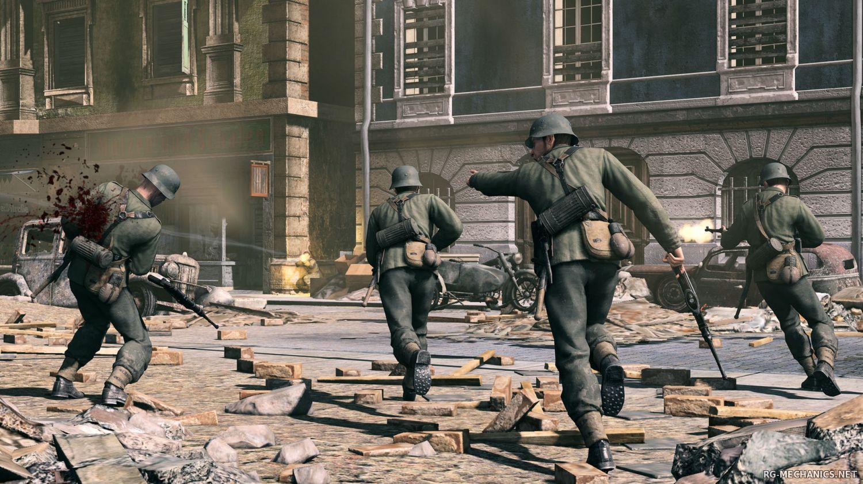 Скриншот к игре Sniper Elite - Anthology / Sniper Elite - Антология (2005-2015) PC | RePack от R.G. Механики