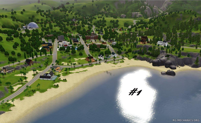 Скриншот к игре The Sims 3: Complete Edition (2009-2013) РС   Repack от R.G. Механики