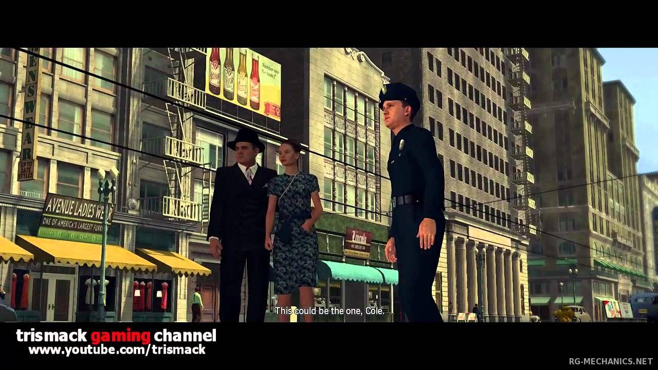 Скриншот к игре L.A. Noire: The Complete Edition [v 1.3.2617] (2011) PC | RePack от R.G. Механики