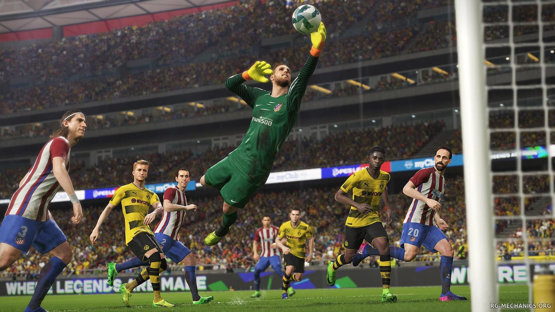 Скриншот к игре PES 2018 / Pro Evolution Soccer 2018: FC Barcelona Edition (2017) PC   RePack от R.G. Механики