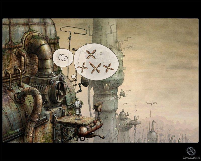 Скриншот к игре Машинариум / Machinarium (2009) PC   Repack от R.G. Механики