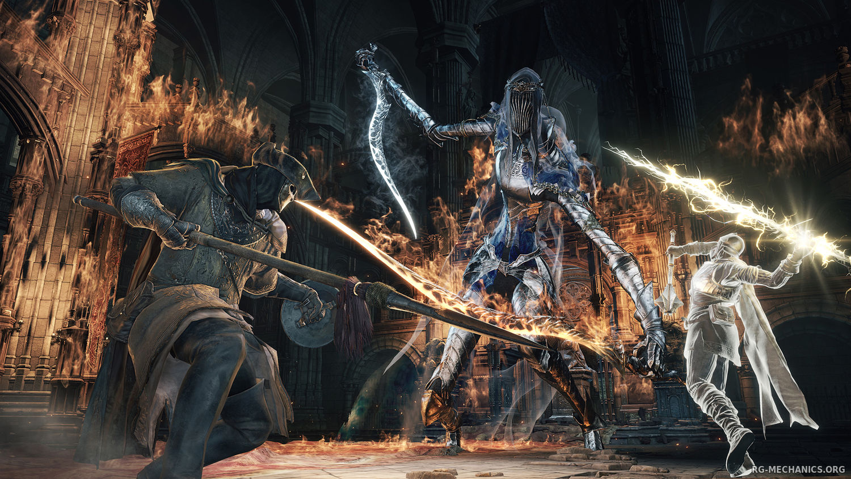 Скриншот к игре Dark Souls 3: Deluxe Edition [v 1.15 + 2 DLC] (2016) PC | RePack от R.G. Механики