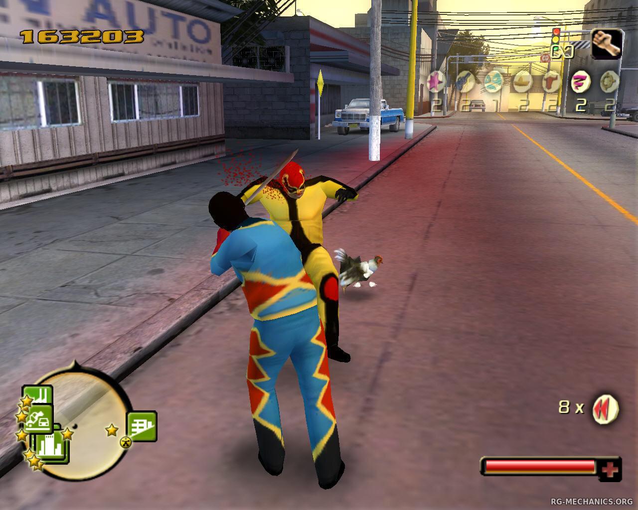 Скриншот к игре Total Overdose (2005) PC   RePack от R.G. Механики