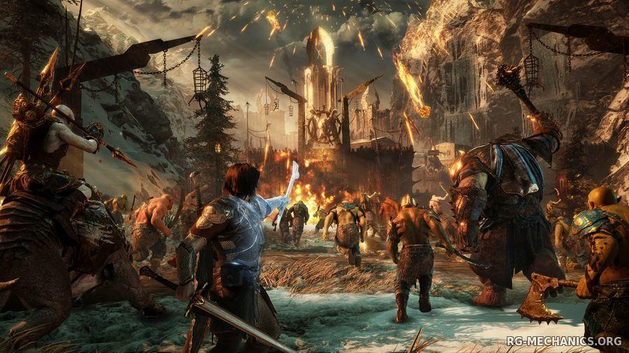 Скриншот к игре Middle-earth: Shadow of War - Definitive Edition [v 1.21 + DLCs] (2018) скачать торрент RePack