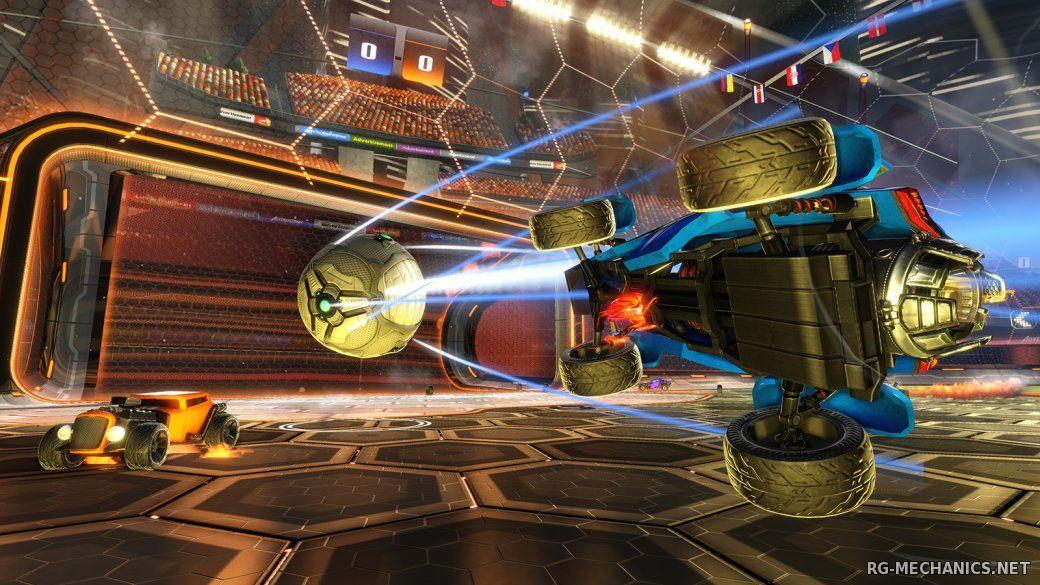 Скриншот к игре Rocket League [v 1.38 + 18 DLC] (2015) PC | RePack от R.G. Механики