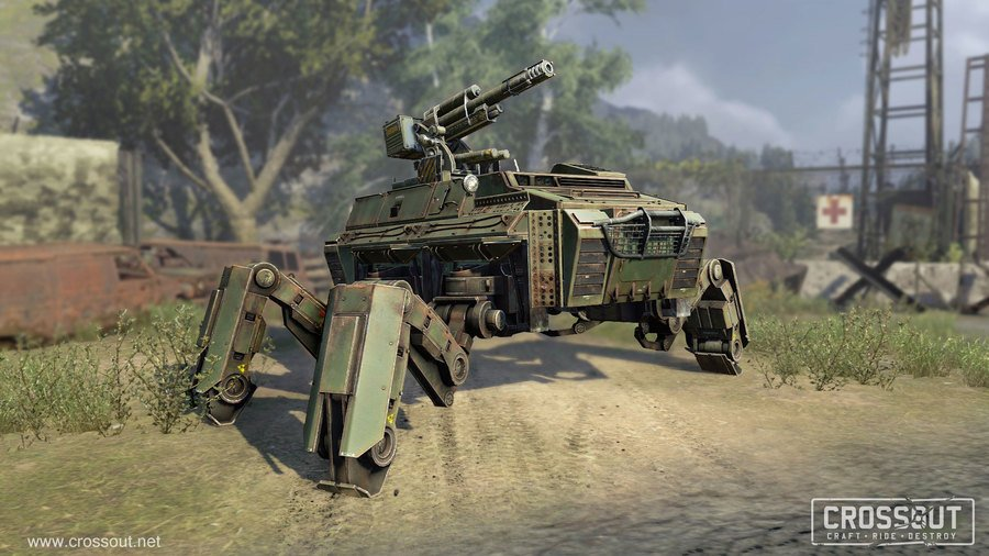Скриншот к игре Crossout (2017)