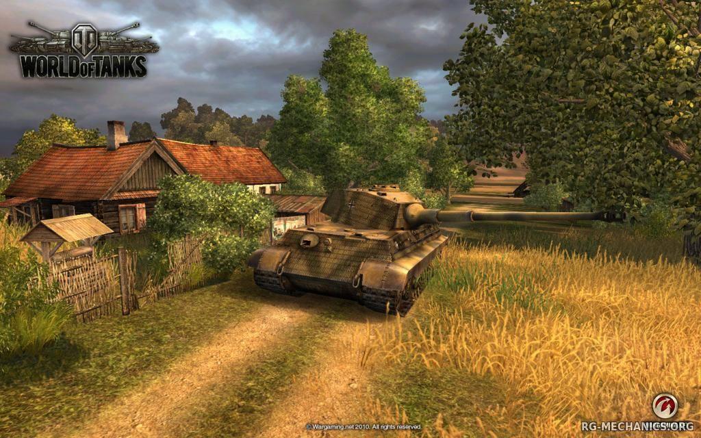 Скриншот к игре World of Tanks (2015)
