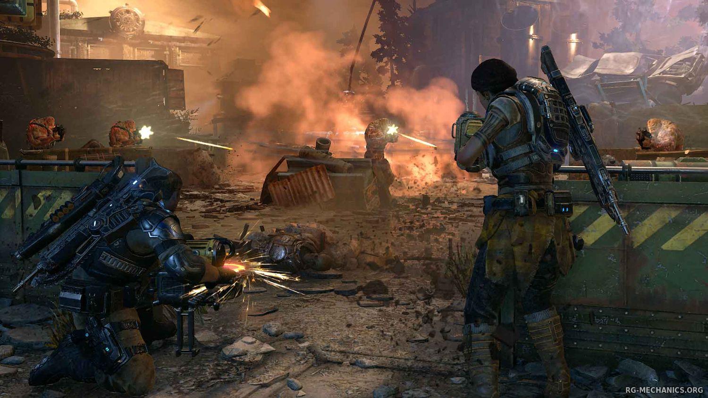 Скриншот к игре Gears of War 4 (2016) PC   Repack от R.G. Механики