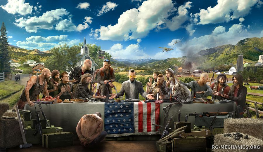 Скриншот 1 к игре Far Cry 5: Gold Edition [v 1.4.0 + DLCs] (2018) PC | RePack