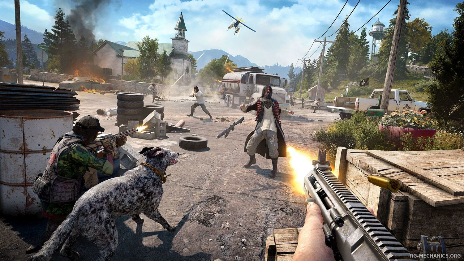Скриншот 3 к игре Far Cry 5: Gold Edition [v 1.4.0 + DLCs] (2018) PC | RePack