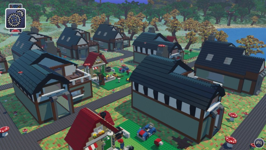 Скриншот к игре LEGO Worlds [v 20180913 + DLCs] (2017) PC | Repack от R.G. Механики