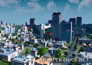 Скриншот к игре Cities: Skylines - Deluxe Edition [v 1.12.2-f3 + DLC] (2015) скачать торрент RePack от xatab