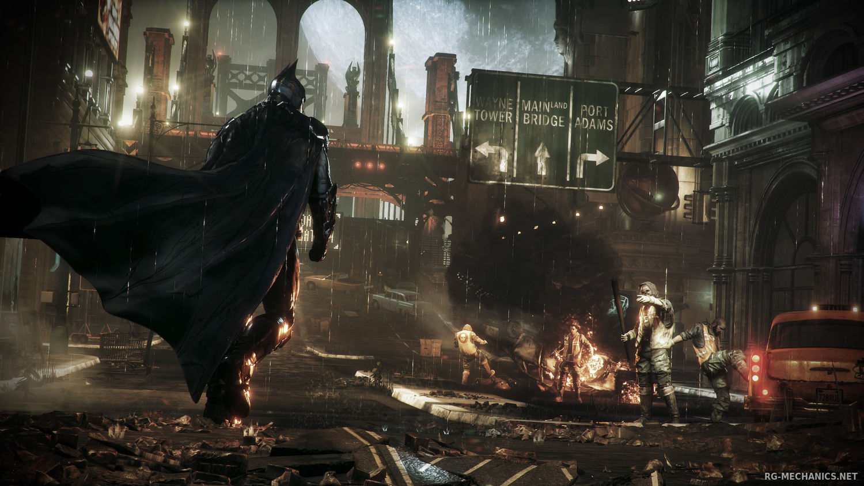 Скриншот к игре Batman: Arkham Knight - Premium Edition [v 1.6.2.0 + DLCs] (2015) PC | Repack от R.G. Механики