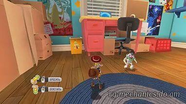 Скриншот к игре История игрушек: Большой побег / Toy Story 3: The Video Game (2010) PC | RePack от R.G. Механики