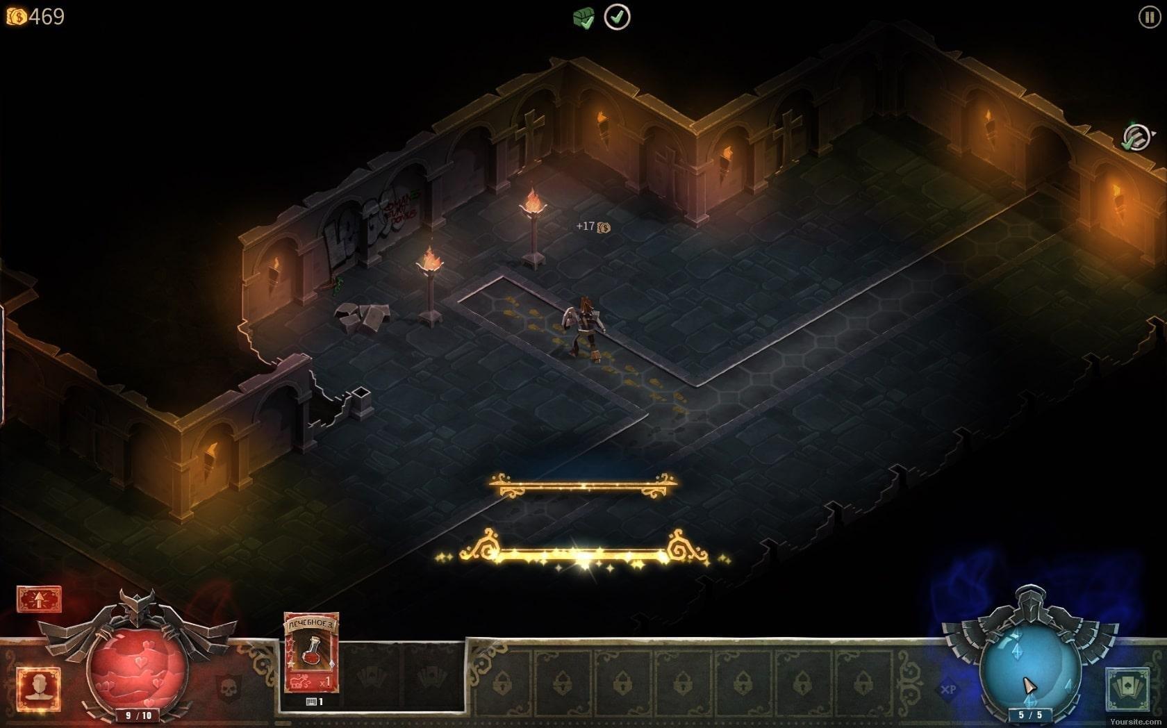Скриншот к игре Book of Demons: Collector's Content v.1.04.22689 [GOG] (2018) скачать торрент Лицензия