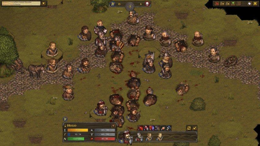 Скриншот к игре Battle Brothers [v 1.4.0.44+DLC] (2017) скачать торрент RePack