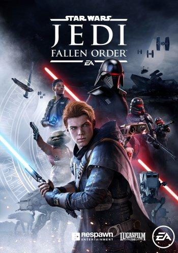 Обложка к игре STAR WARS Jedi: Fallen Order - Deluxe Edition [v1.02] (2019) RePack от R.G. Механики