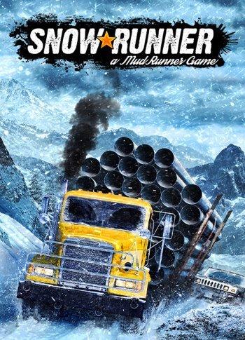 Обложка к игре SnowRunner - Premium Edition [v. 8.0+DLC] (2020) RePack от R.G. Механики